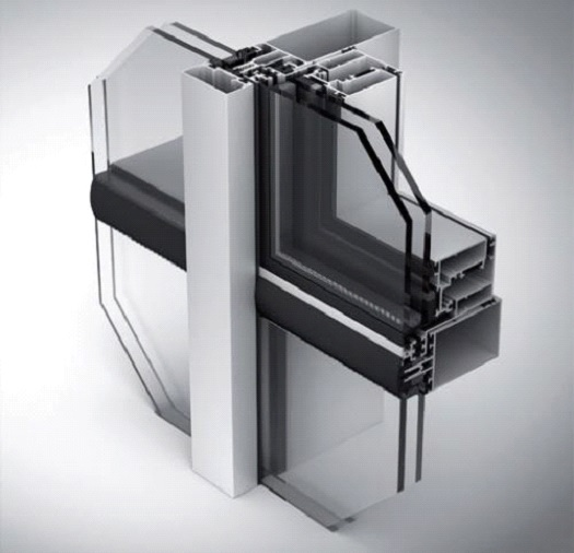 50 F (LEGEND 13'50F) Полузакрытая стоечно – ригельная система 2